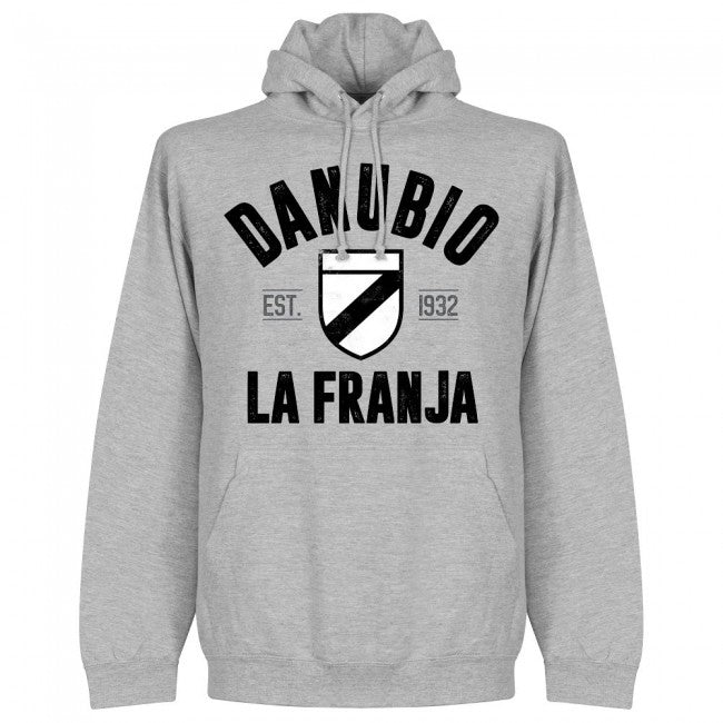 Danubio Established Hoodie - Grey - Terrace Gear
