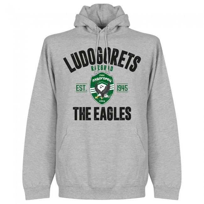 Ludogorets Established Hoodie - Grey - Terrace Gear