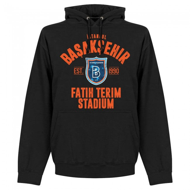 Istanbul Basaksehir Established Hoodie - Black - Terrace Gear