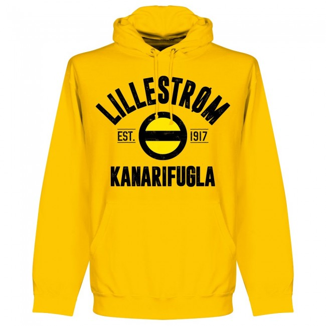 Lillestrom Established Hoodie - Yellow - Terrace Gear
