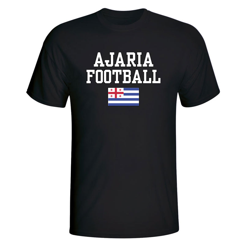 Ajaria Football T-Shirt - Black