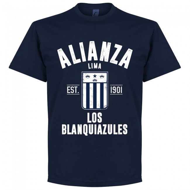 Alianza Lima Established T-Shirt - Navy