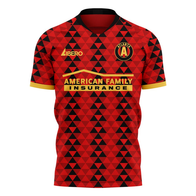 Atlanta 2020-2021 Home Concept Football Kit (Libero) - Terrace Gear