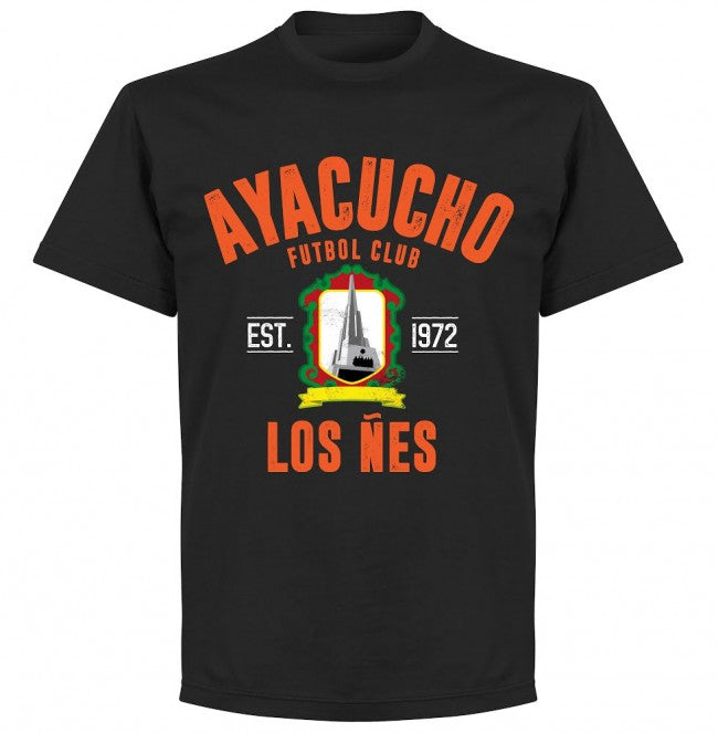 Ayacucho Established T-Shirt - Black - Terrace Gear