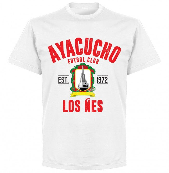 Ayacucho Established T-Shirt - White - Terrace Gear