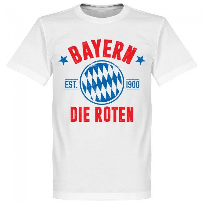 Bayern Established T-Shirt - White - Terrace Gear