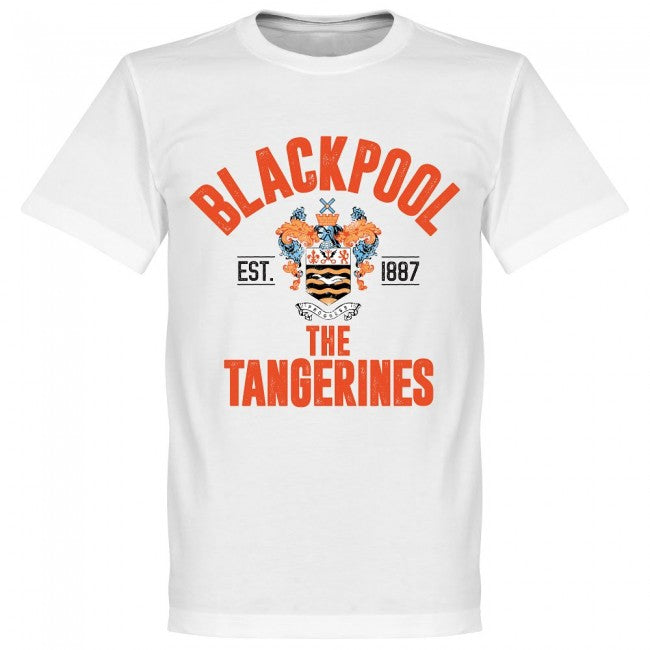 Blackpool Established T-Shirt - White
