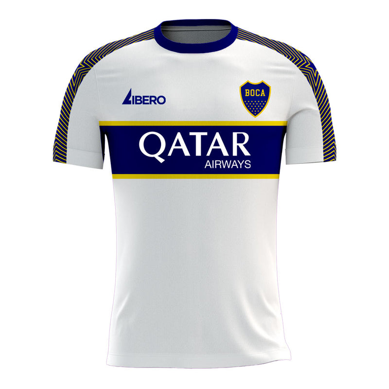 Boca Juniors 2020-2021 Away Concept Football Kit (Libero) - Terrace Gear