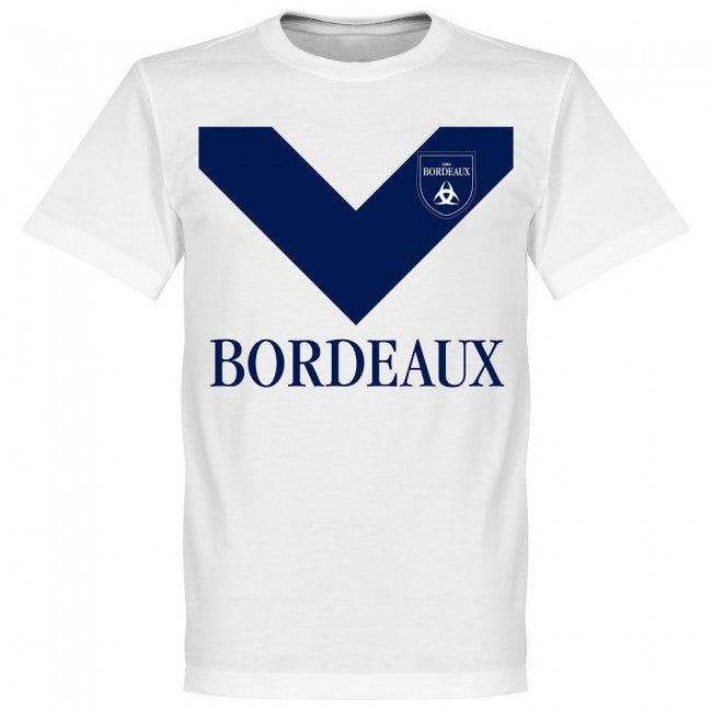 Bordeaux Team T-Shirt - White