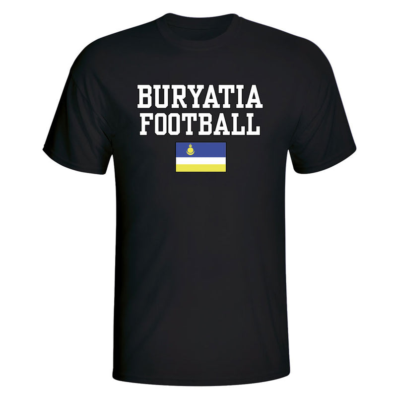 Buryatia Football T-Shirt - Black