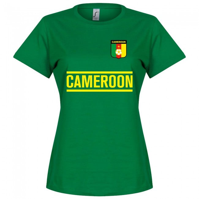 Cameroon Team Womens T-Shirt - Green