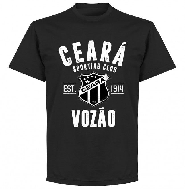 Ceara Established T-Shirt - Black - Terrace Gear