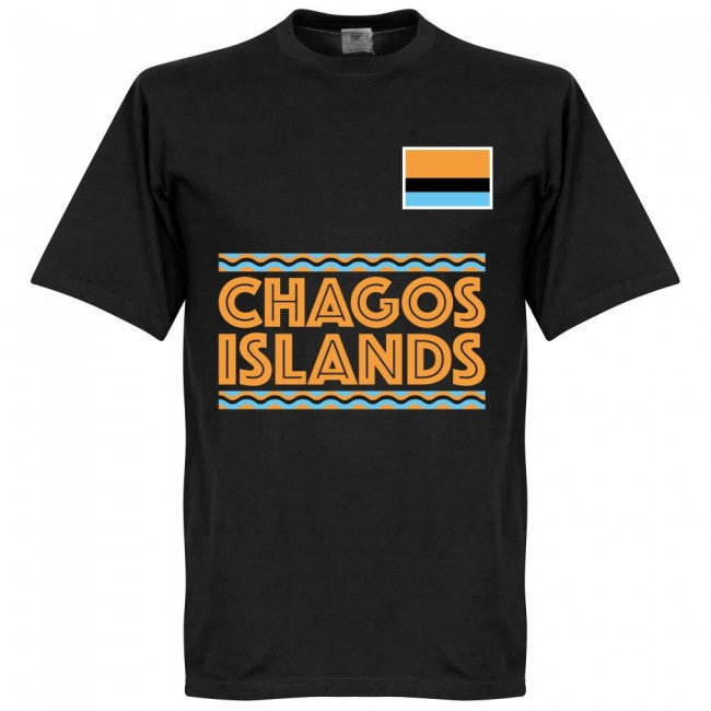 Chagos Islands Team T-Shirt - Black