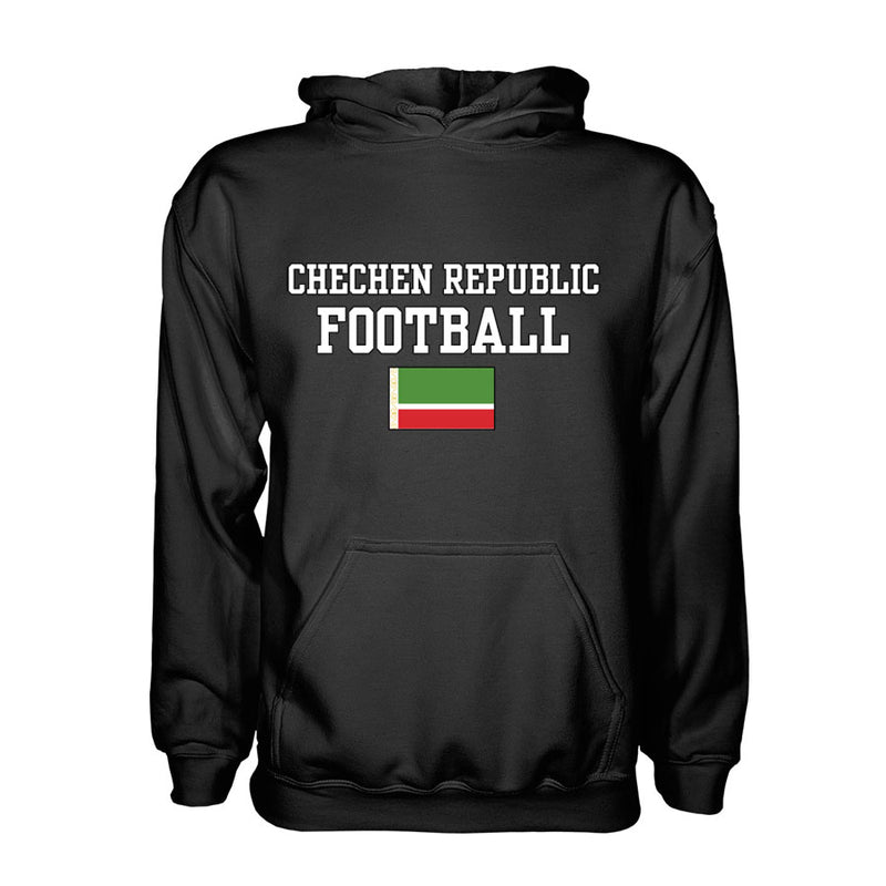 Chechen Republic Football Hoodie - Black