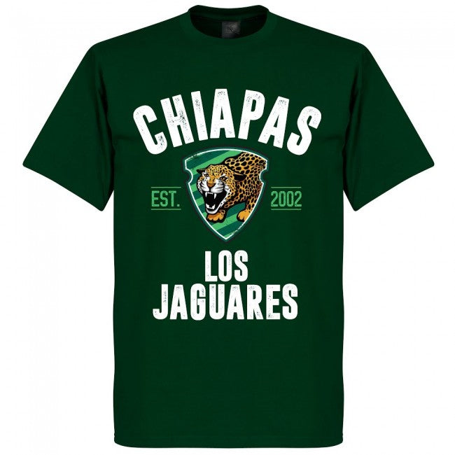 Chiapas Jaguares Established T-Shirt - Bottle Green