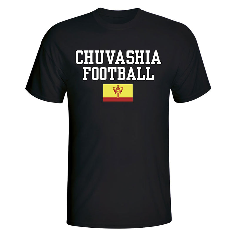 Chuvasia Football T-Shirt - Black