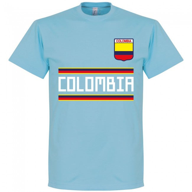 Colombia Team T-Shirt - Sky