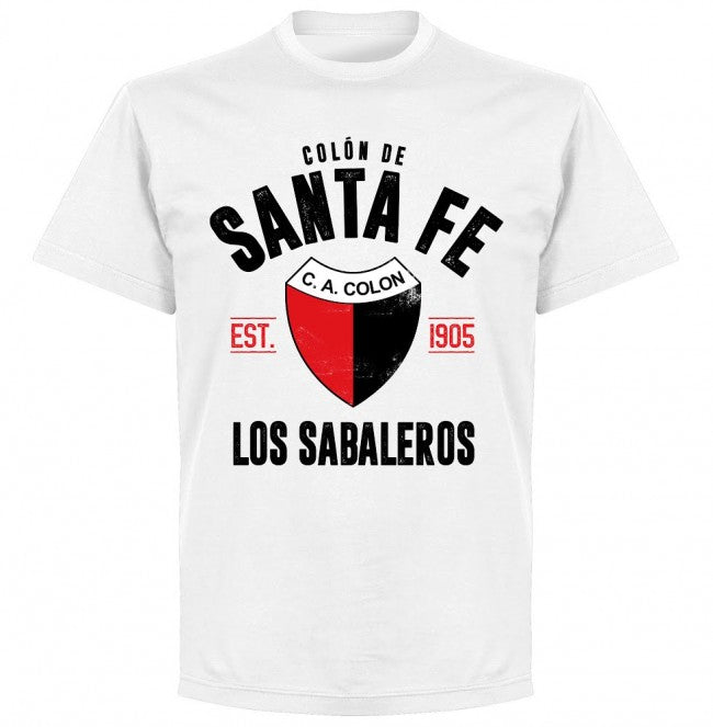 Colon de Santa Fe Established T-Shirt - White - Terrace Gear