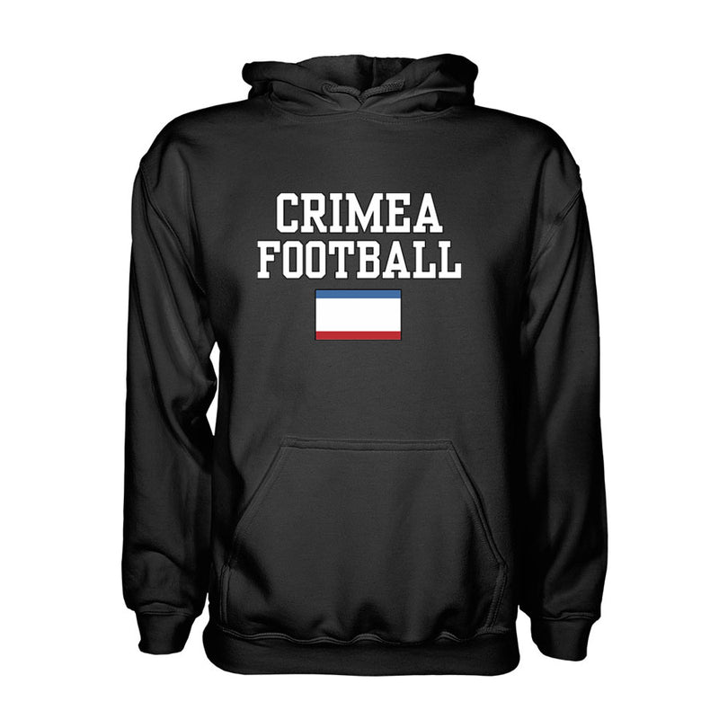 Crimea Football Hoodie - Black