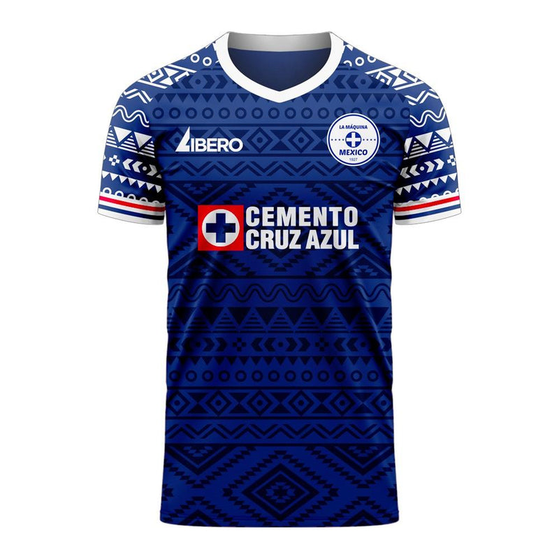 Cruz Azul 2020-2021 Home Concept Football Kit (Libero) - Womens