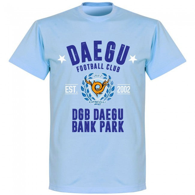 Daegu Established T-shirt - Sky - Terrace Gear