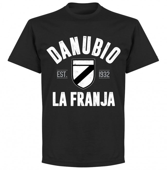 Danubio Established T-shirt - Black - Terrace Gear