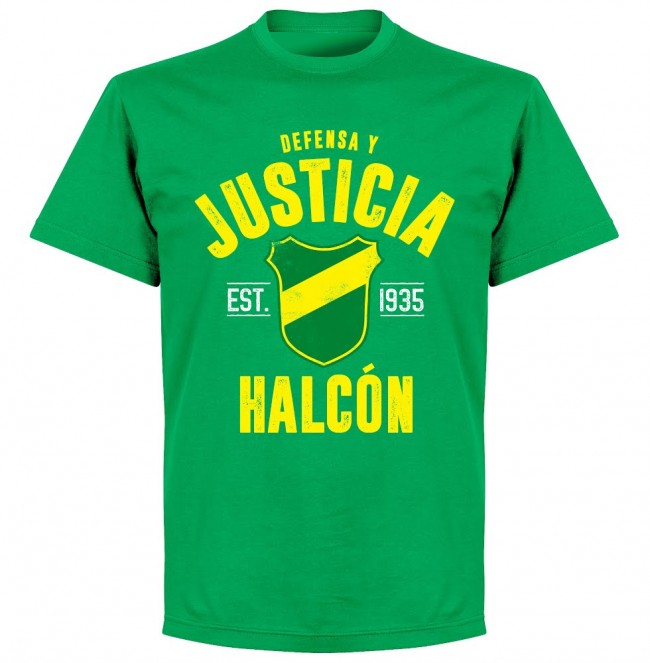 Defensa Justica Established T-Shirt - Green - Terrace Gear
