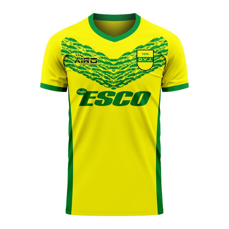 Defensa y Justicia 2020-2021 Home Concept Football Kit (Libero) - Adult Long Sleeve