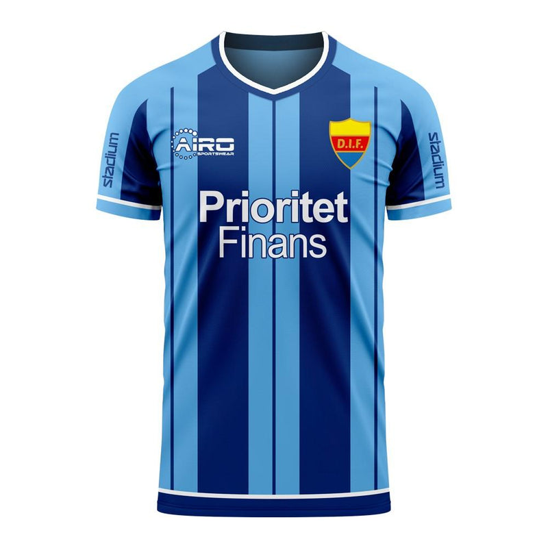 Djurgardens 2020-2021 Home Concept Football Kit (Libero) - Adult Long Sleeve