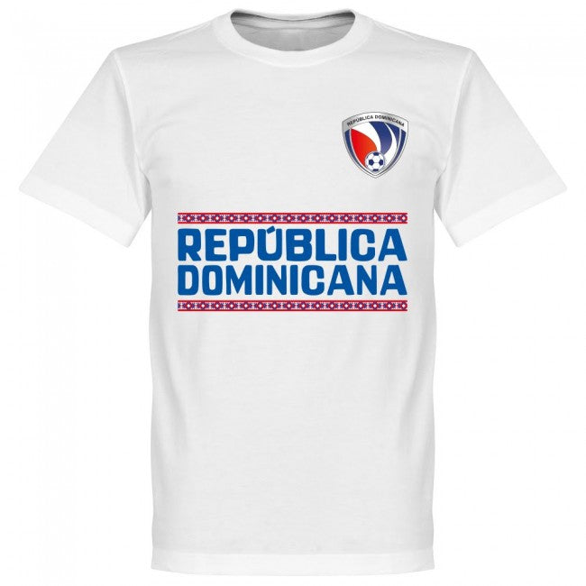 Dominican Republic Team T-Shirt - White