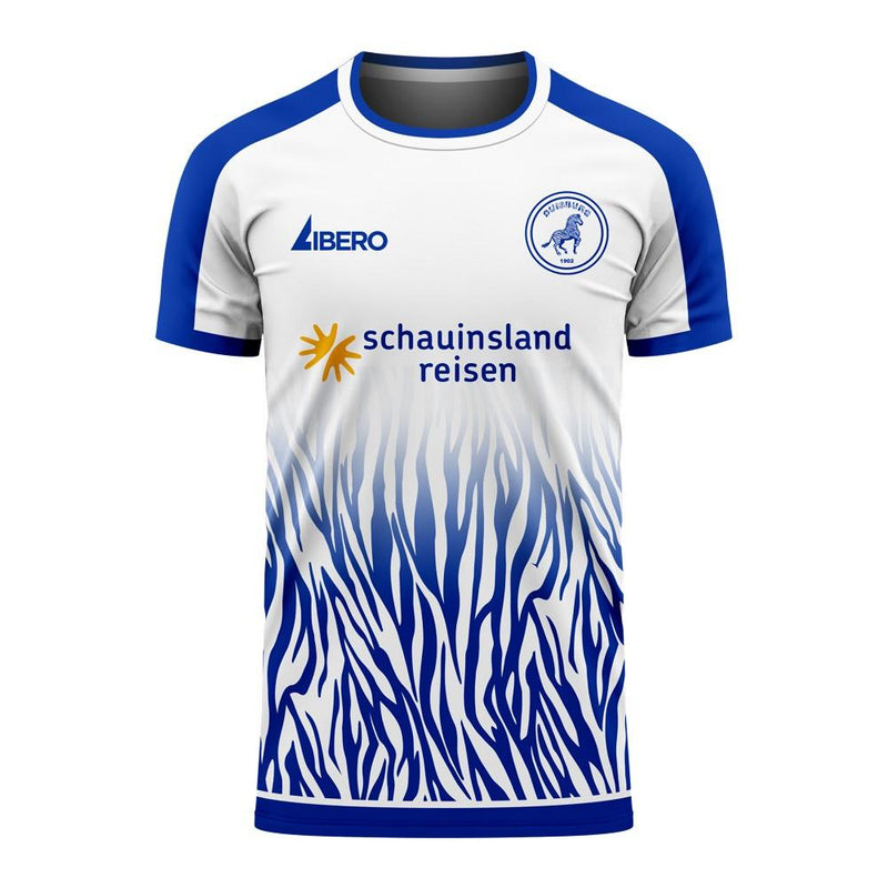Duisburg 2020-2021 Home Concept Football Kit (Libero) - Adult Long Sleeve