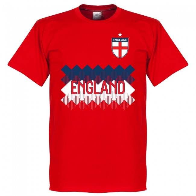 England Team T-Shirt - Red