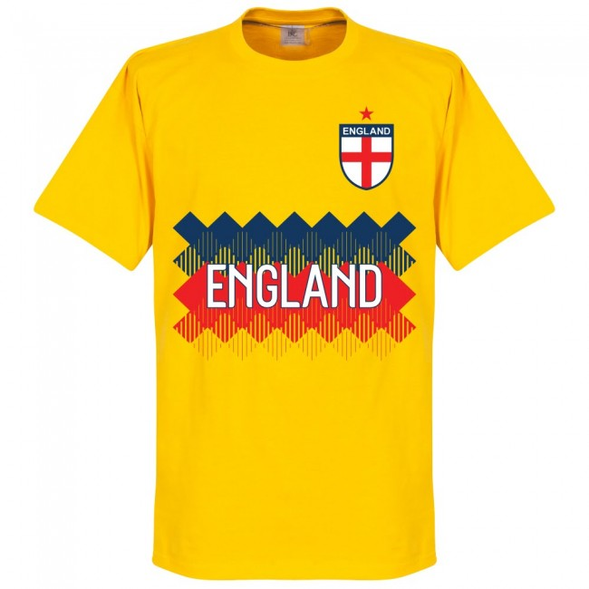 England Team T-Shirt - Yellow