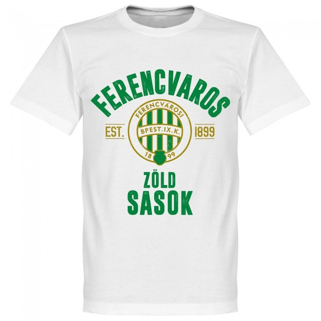 Ferencvaros Established T-Shirt - White