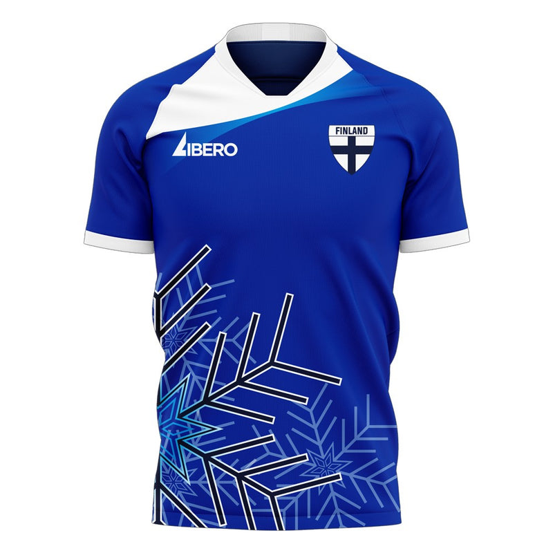 Finland 2020-2021 Away Concept Football Kit (Libero) - Terrace Gear