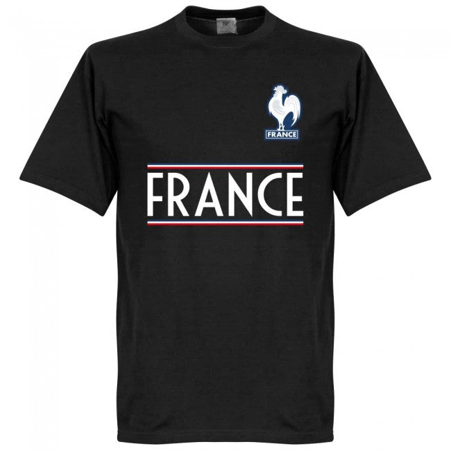 France Team T-Shirt - Black