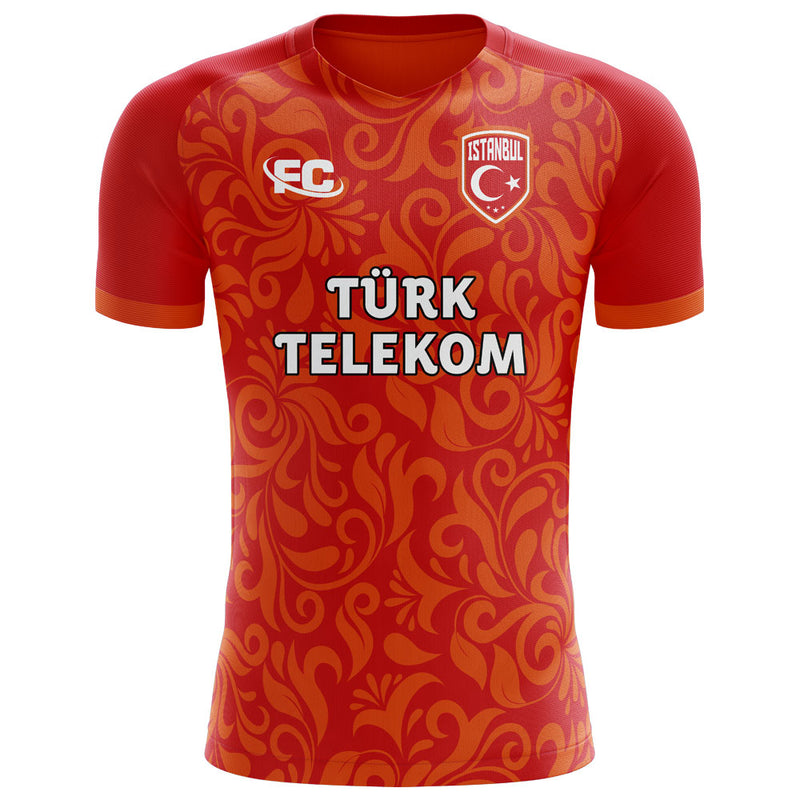 Galatasaray 2020-2021 Home Concept Football Kit - Terrace Gear