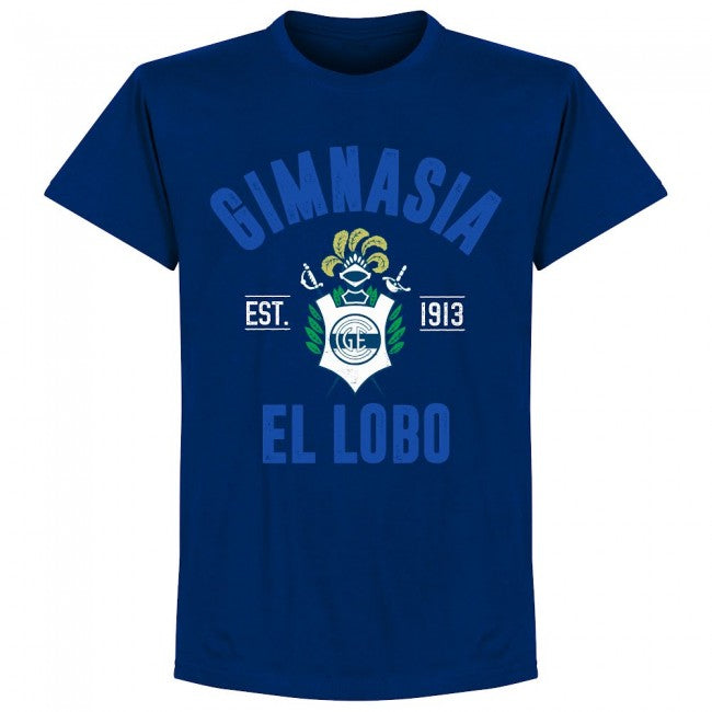 Gimnasia Established T-Shirt - Ultramarine - Terrace Gear