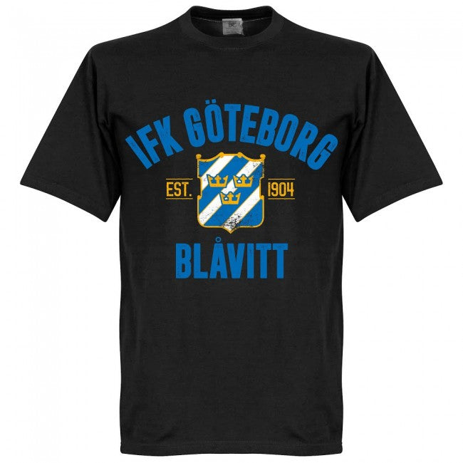 Gothenburg Established T-Shirt - Black