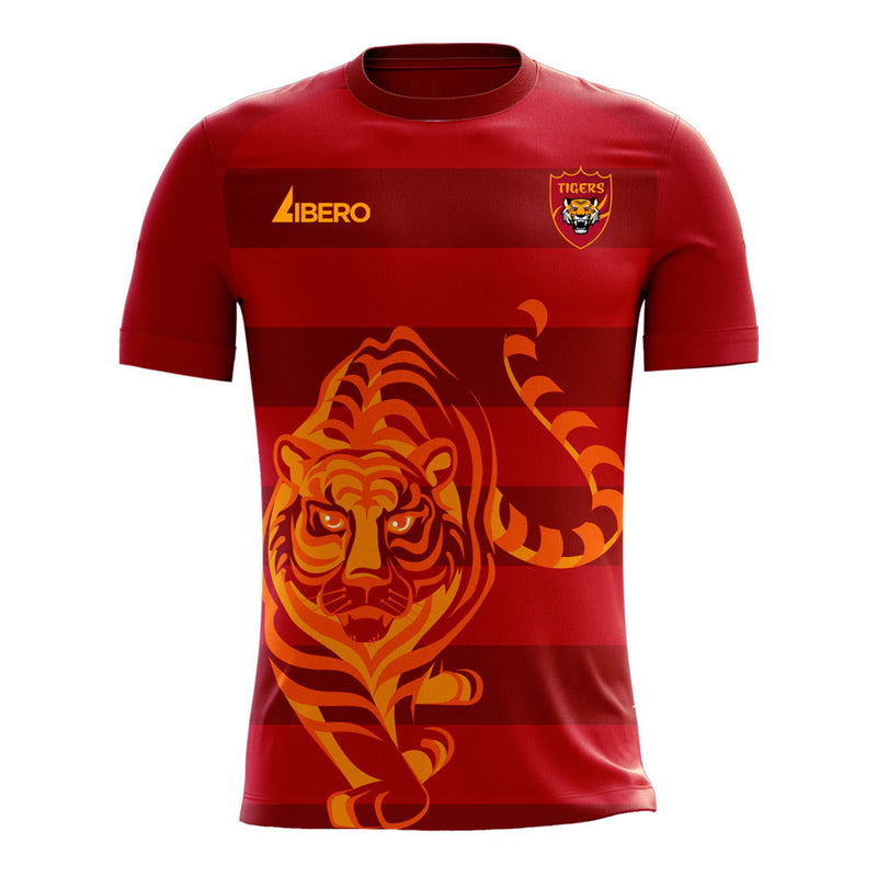 Guangzhou 2020-2021 Home Concept Football Kit (Libero) - Terrace Gear