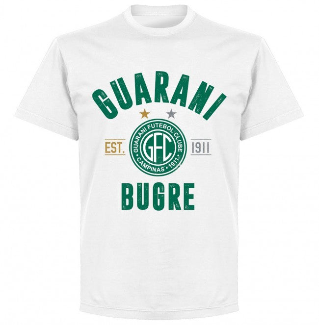 Guarani Established T-Shirt - White - Terrace Gear
