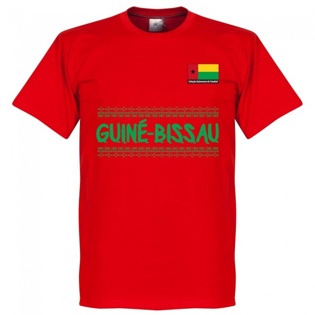 Guinea Bissau Team T-Shirt - Red