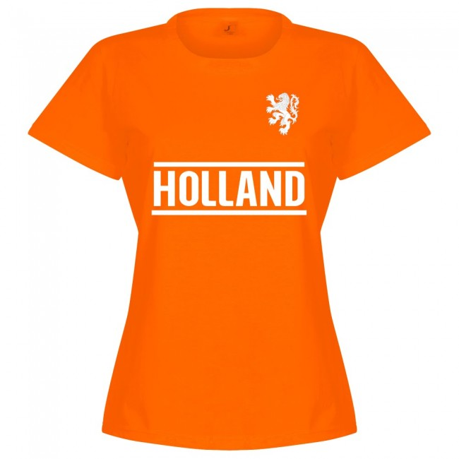 Holland Team Womens T-Shirt - Orange