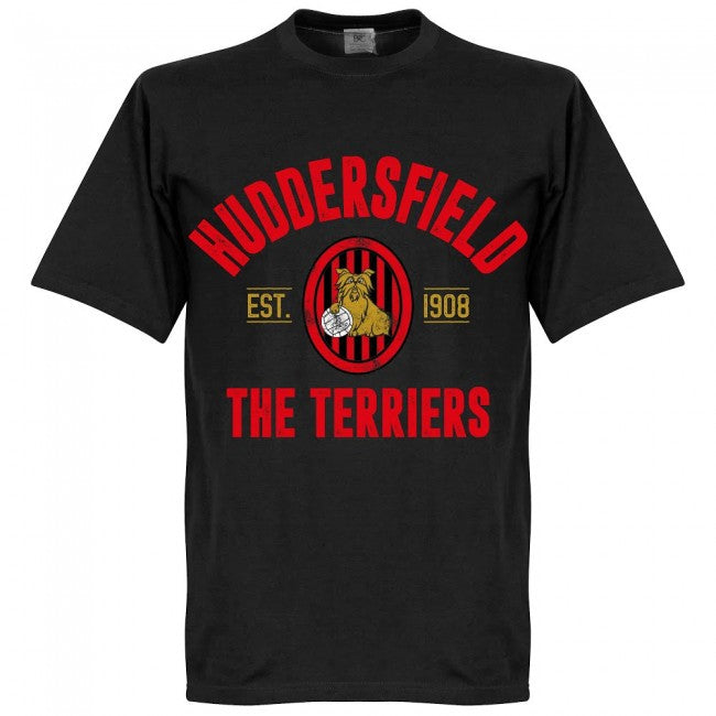 Huddersfield Established T-Shirt - Black
