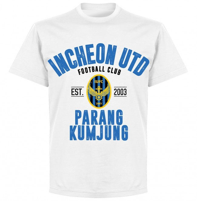 Incheon Established T-shirt - White - Terrace Gear