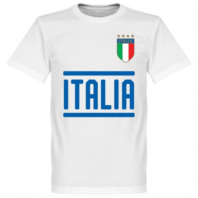 Italy Team T-Shirt - White