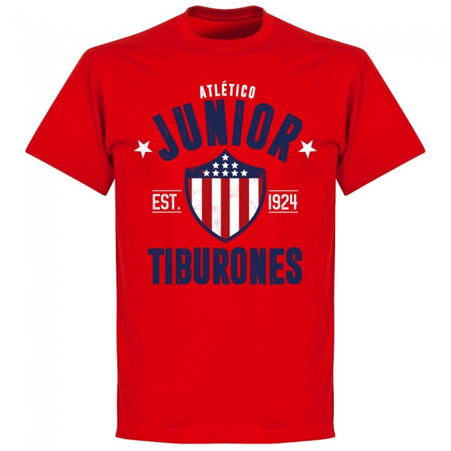 Junior Established T-Shirt - Red - Terrace Gear