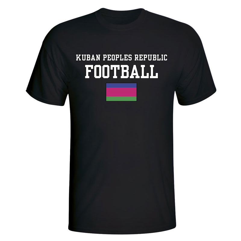 Kuban Peoples Republic Football T-Shirt - Black