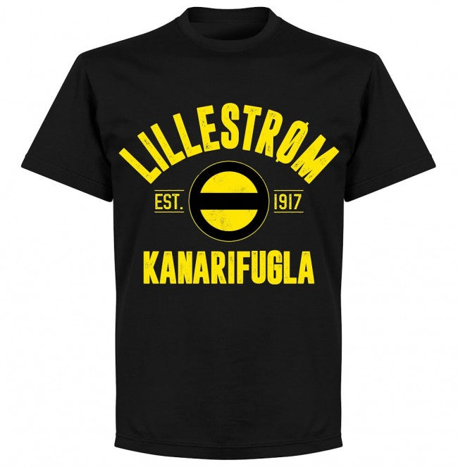 Lillestrom Established T-shirt - Black - Terrace Gear