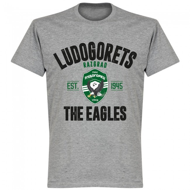 Ludogorets Established T-shirt - Grey - Terrace Gear